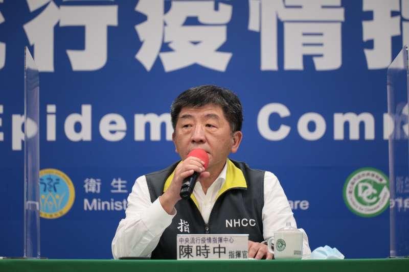 20200519-中央流行疫情指揮中心指揮官陳時中(見圖)。(指揮中心提供)