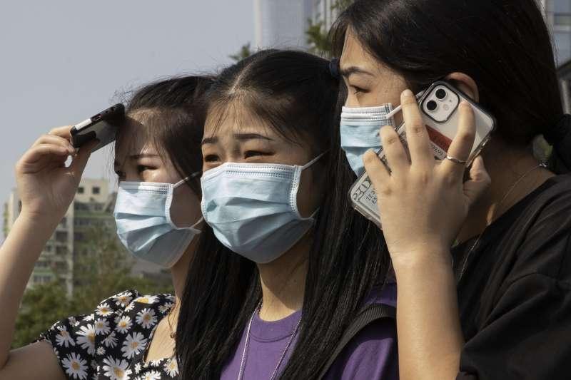 新冠肺炎疫情重挫中國經濟,消費力也不如以往(AP)