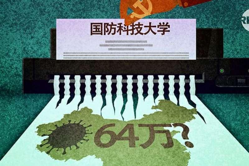 中國新冠疫情大外宣不小心露了馬腳。(自由亞洲電臺)