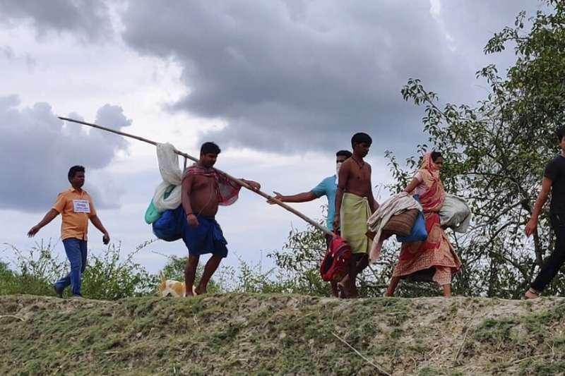 熱帶氣旋安芬(Amphan)即將侵襲印度。(美聯社)