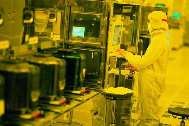 台積電的總營收中,來自華為的比重高達14%。(台積電提供)