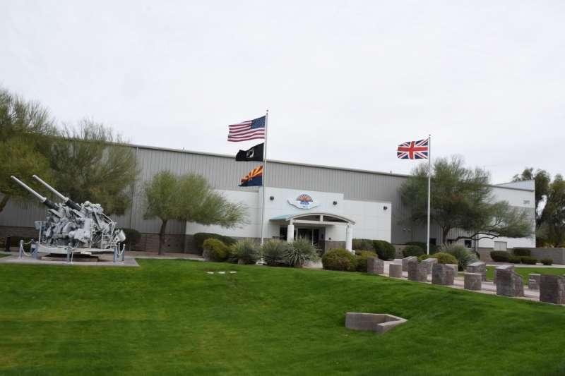 位於梅薩的紀念空軍亞利桑那博物館,是喜歡軍事航空歷史的人造訪大鳳凰城地區時不可錯過的好地方,更重要的是此地對中華民國非常友善。(許劍虹提供)
