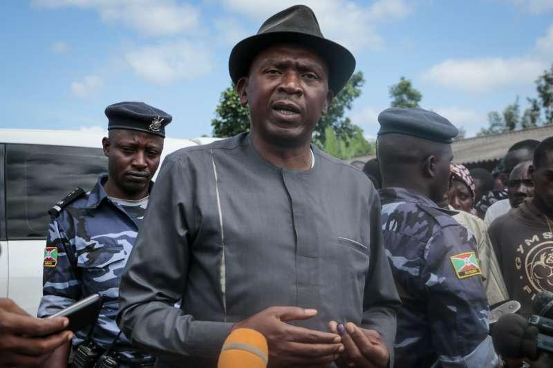 蒲隆地大選:在野黨總統候選人盧瓦薩(AP)