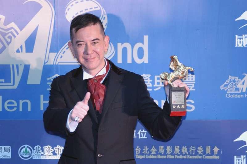 香港影帝黃秋生入境台灣拍戲,並在臉書上分享對台灣生活的好感。(林瑞慶攝)