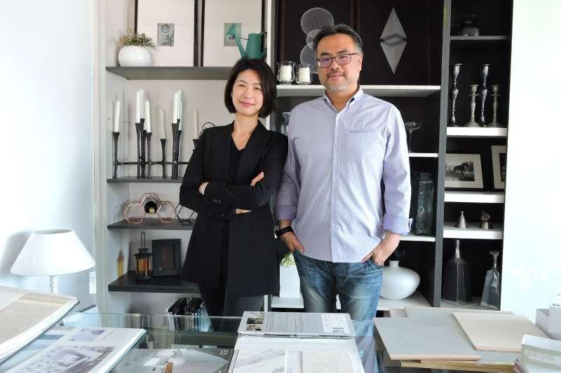 豐聚室內設計黃翊峰、李羽芝以「雙主持人」形式,為數百位屋主完成夢想中的家(圖/豐聚室內設計提供)