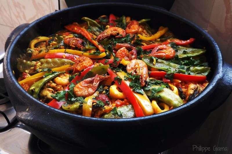 西班牙燉飯(圖/flickr)