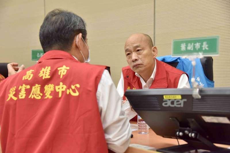 罷免高雄市長韓國瑜(見圖)的投票即將於6月6日舉行。(資料照,高雄市政府提供)