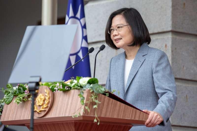 2020年5月20日,蔡英文總統就職典禮(AP)