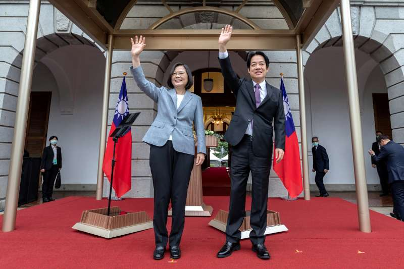 蔡英文總統就職演說表示,希望接受臺灣幫助抗疫的國家也要回頭幫助臺灣擴大國際參與。(AP)