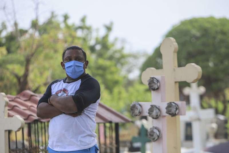 2020年5月,新冠肺炎肆虐中美洲台灣友邦尼加拉瓜(AP)