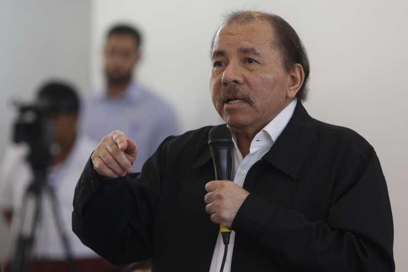 2020年5月,新冠肺炎肆虐中美洲台灣友邦尼加拉瓜,總統奧德嘉(Daniel Ortega)一籌莫展(AP)