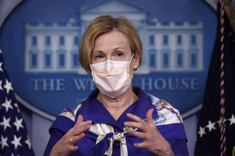 口罩文化衝擊:美國白宮疫情專案小組協調人柏克斯警告不戴口罩恐怕後果不堪設想(AP)