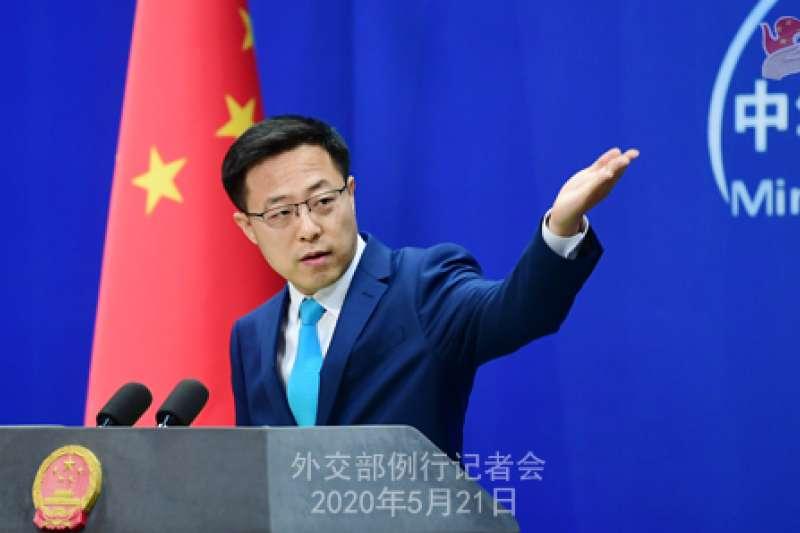 中國外交部發言人趙立堅。(中國外交部官網)