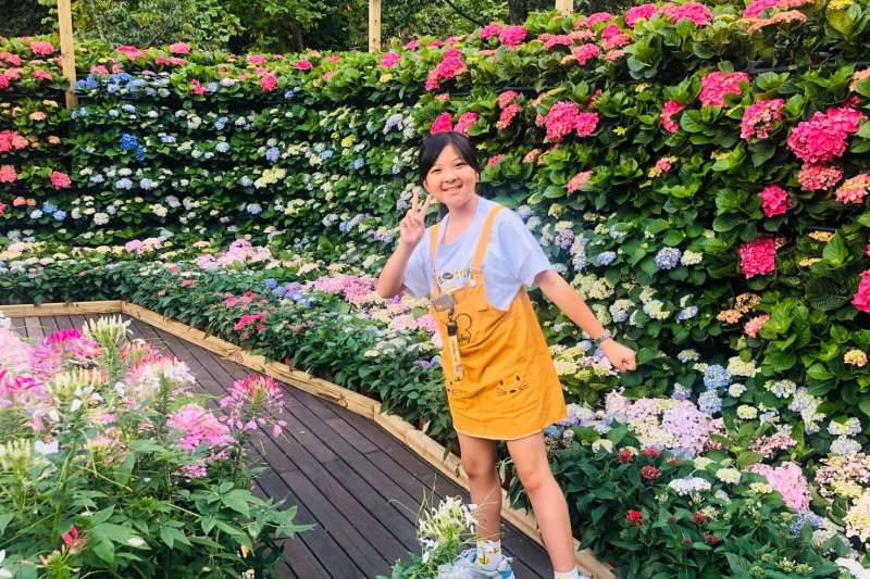 參山處歡迎全國遊客一起來尋找南庄百花巷弄裡的美好花時光。(圖/參山處提供)