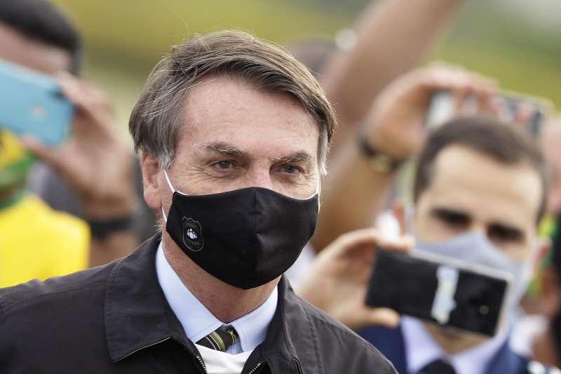 巴西總統博索納羅(AP)