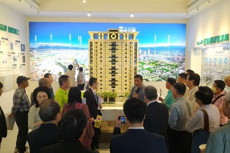 由海悅國際、科達機構所投資「海研建築」推出首案「新莊海悅花園」,今年5/23正式公開,吸引上新莊自住客買氣,開賣2天即熱銷5成。(圖/業者提供)