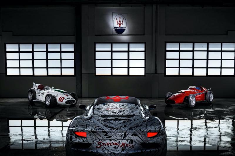 瑪莎拉蒂新超跑 MC20 預先亮相,傳奇賽車手「無冕之王」為何是致敬的對象?(圖 / Modena Motori Taiwan 提供)