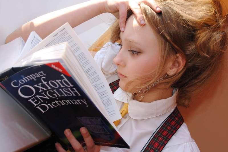 思考、煩惱、字典。(圖/pixabay)