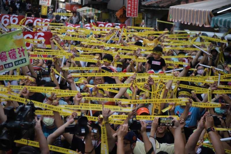 高雄市長韓國瑜罷免案投票邁入倒數階段,罷韓團體呼籲高雄市民勇敢出來投票。(取自Wecare高雄臉書)