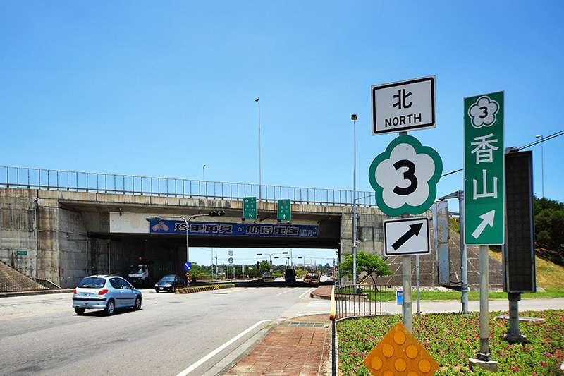 竹南市區鄰近國道3號竹南交流道,交通撐起買盤。(圖/富比士地產王提供)