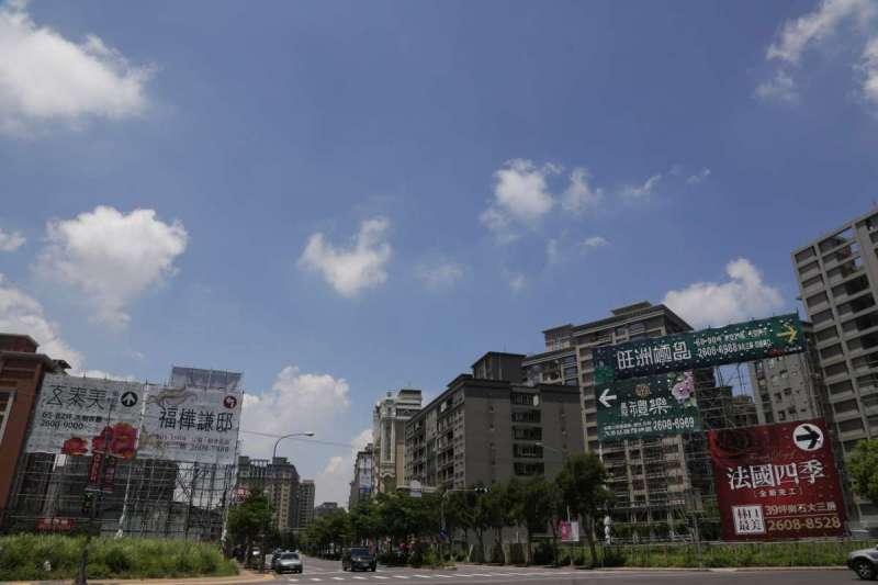 林口榮登近10年來北台灣新成屋、預售屋房價漲幅前10名行政區之一。(新新聞資料照)