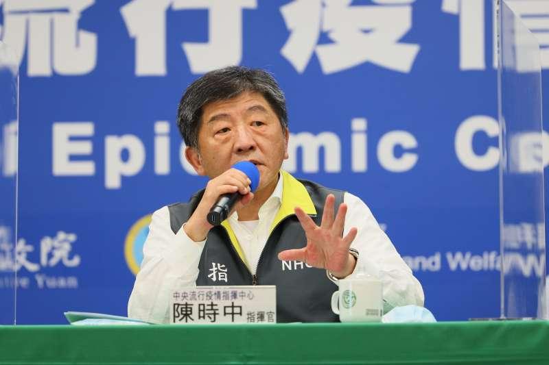 指揮官陳時中說明,該名日籍女大生2月底自日本入境台灣,在南部某大學就讀,初步掌握接觸者共140人。(資料照,中央流行疫情指揮中心提供)
