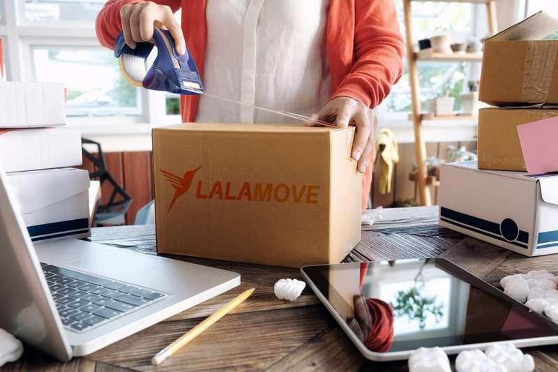 Lalamove從大數據中洞察新商機,主打「快送更多可能」拓展新服務行種。(圖/Lalamove提供)