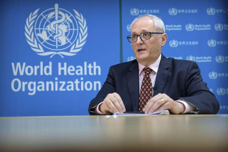 世界衛生組織(WHO)駐中國代表高力(Gauden Galea)(資料照,AP)