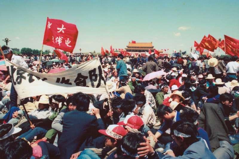 今天六四天安門事件31周年,民進黨今(4)日也發表聲明強調這是「不能被遺忘的日子」。(新新聞資料照)