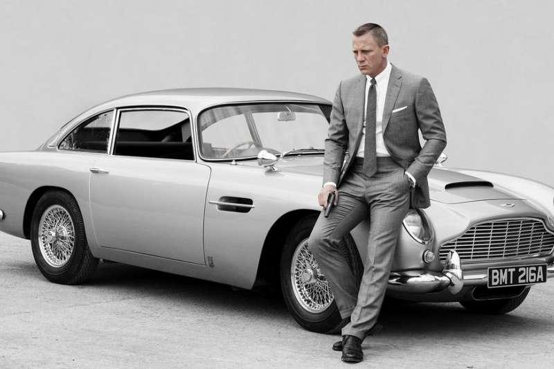 007系列電影龐德座駕DB5。(截自網路)