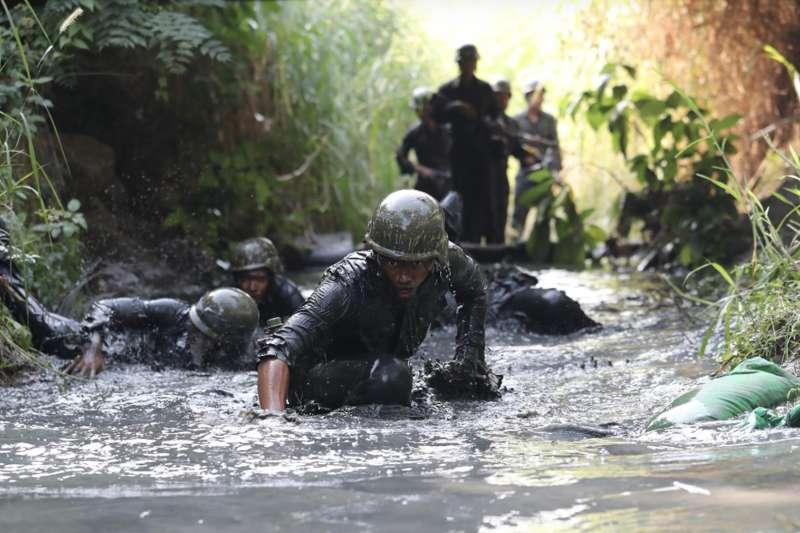 退役上將季麟連直言,自己就是打第一仗、立第一功的陸戰隊,國軍就在這裡,只要陸戰隊在,誰都拿不下台灣。(資料照,青年日報提供)