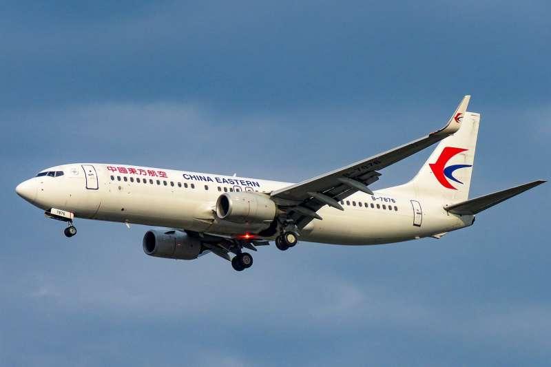 中國東方航空波音737-800(N509FZ@Wikipedia / CC BY-SA 4.0)