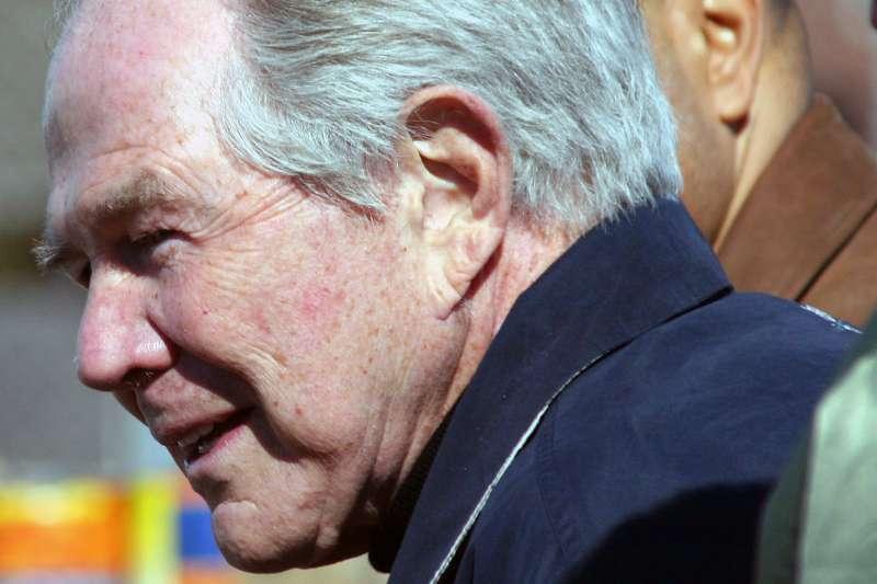 美國知名福音派領袖羅伯森(Pat Robertson)。(Paparazzo Presents@Wikipedia_CCBYSA3.0)