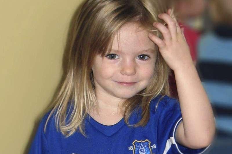 英國女童失蹤案:當時快滿4歲的瑪德琳2007年失蹤至今(AP)
