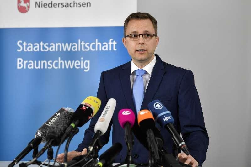 英國女童失蹤案:德國檢察官沃特斯稱,假設瑪德琳已不在人世(AP)