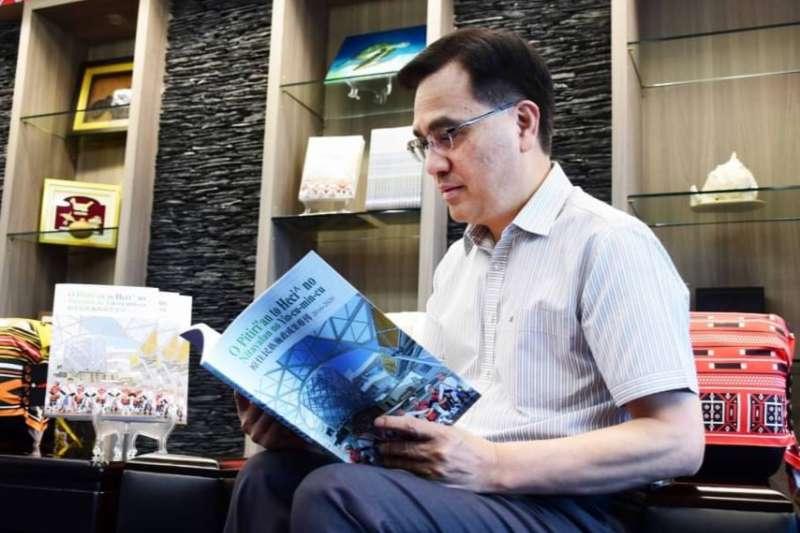原民會主委夷將‧拔路兒Icyang‧Parod表示,透過專刊的發行,讓各界及族人更了解政府的努力。(圖/原民會提供)