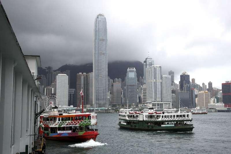 美國出口到香港的貨物,至少有三分之一被香港再轉口到中國。(美聯社)
