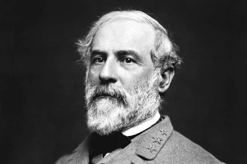 1865年4月9日,美國南北戰爭,南軍主帥李將軍(Robert E. Lee)(Wikipedia / Pubkic Domain)