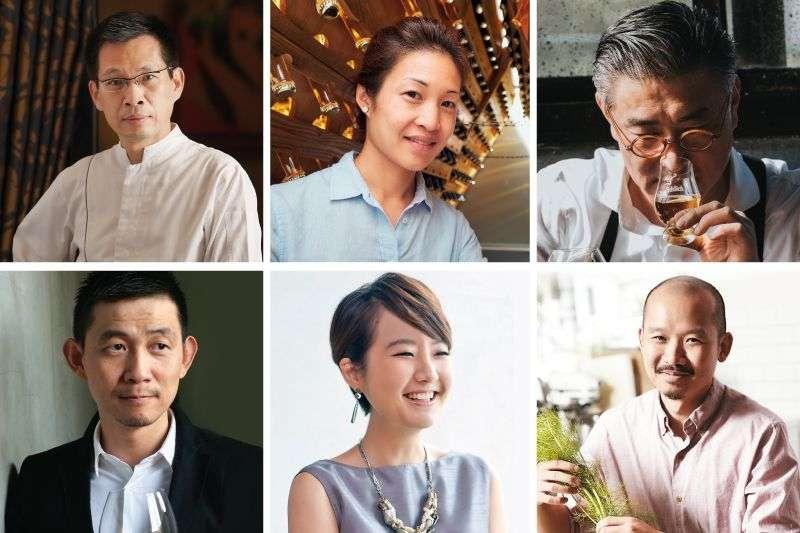 這些大廚、釀酒師、美食評論家與企業家讓我們對於台灣美食與飲品感到無比期待。(圖/Taiwan Tatler)