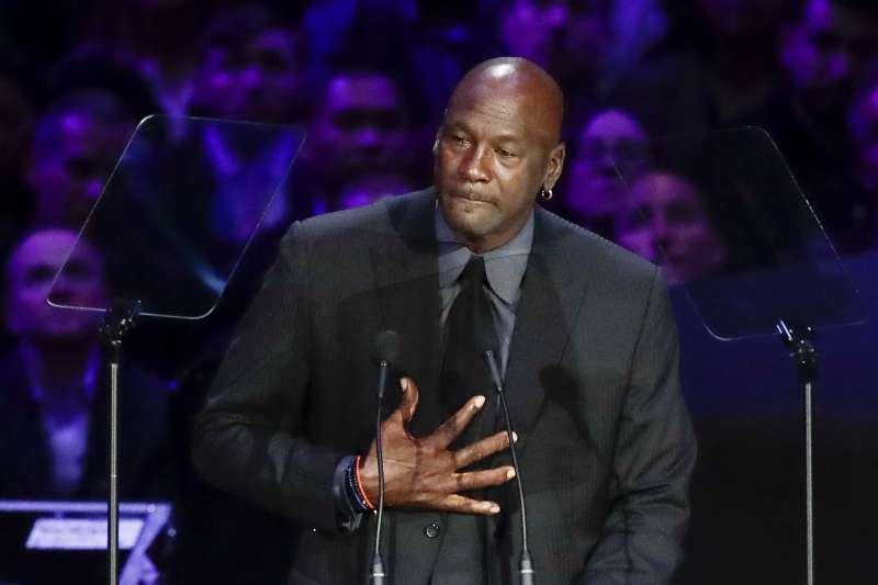 美國職籃NBA傳奇球星喬丹(Michael Jordan)(AP)