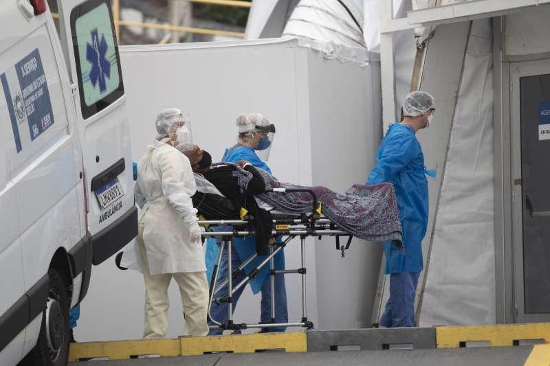 2020年6月,巴西成為全球新冠肺炎疫情最嚴重的國家之一(AP)