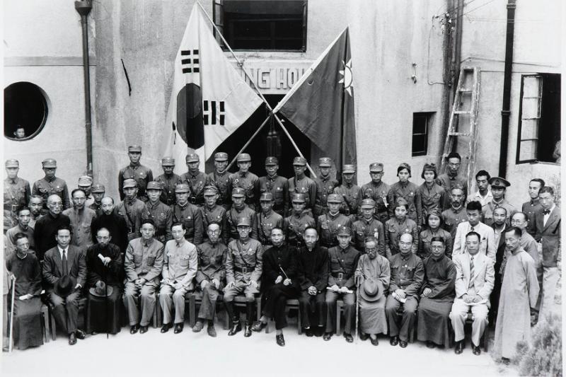 南韓軍隊的前身為韓國光復軍,隸屬於金九的大韓民國臨時政府,曾經接受國民革命軍的領導。(圖片由作者提供)