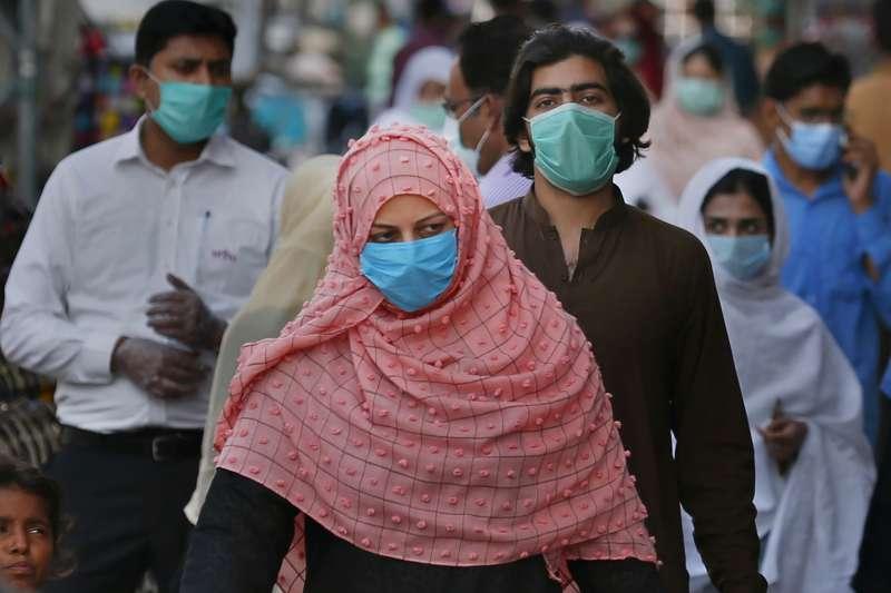 巴基斯坦近期的武漢肺炎疫情嚴重(美聯社)