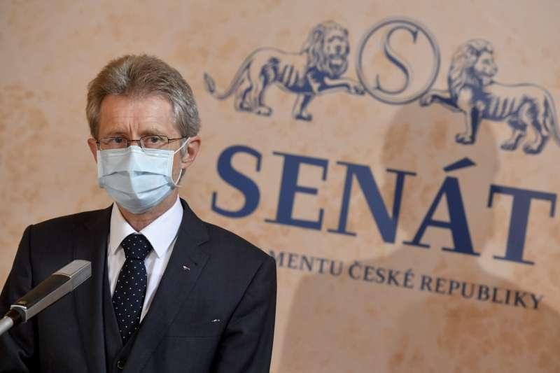 不顧北京反對,捷克參議院議長維特齊(Miloš Vystrčil)日前宣布訪問台灣。(資料照,美聯社)