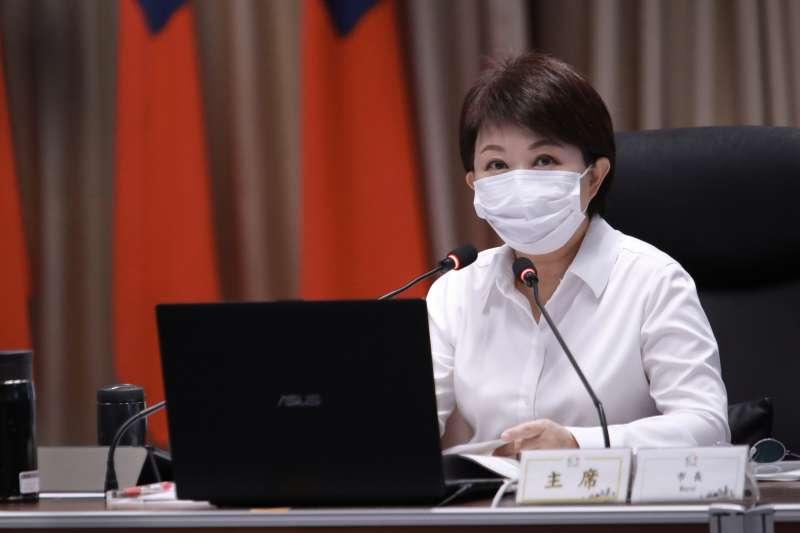 根據《美麗島電子報》最新民調顯示,台中市長盧秀燕(見圖)的施政滿意度,從去年8月的44%上升到54%。(資料照,台中市政府提供)