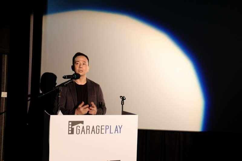車庫創辦人張心望(見圖)表示,台灣電影最大問題是不能走出去,南韓如《寄生上流》的國際推廣能力很強,未來也希望在這方面可以給予國片協助。(車庫娛樂提供)