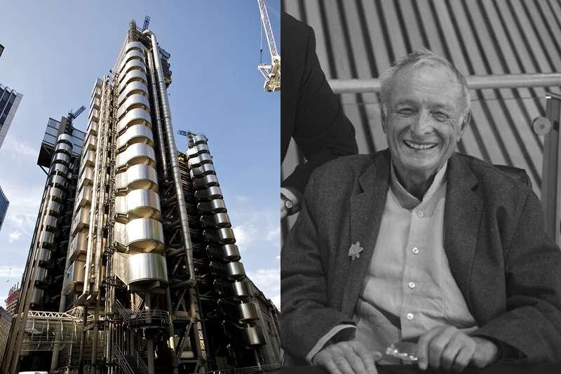 理察‧羅傑斯著名設計作品「勞氏大樓」。(圖/fliclr)