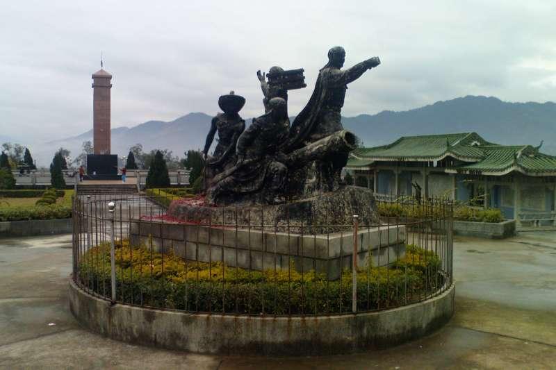 廣西梧州的一座太平天國紀念碑(Meumo@Wikipedia / Public Domain)