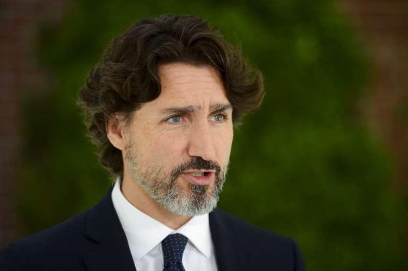加拿大總理杜魯道的髮型成為全國關注焦點。(AP)