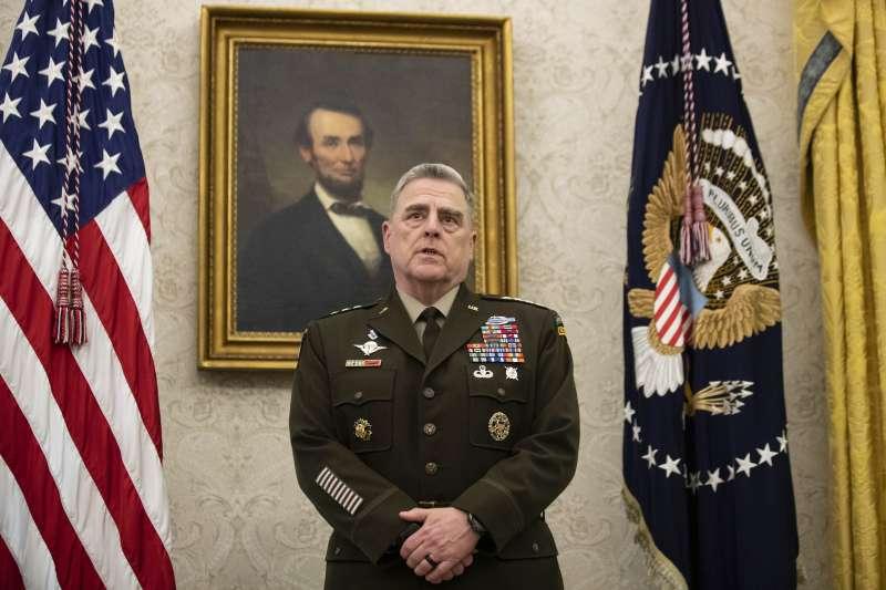 美軍參謀首長聯席會議主席、陸軍四星上將米利(Mark Milley)(AP)